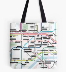 #tagsandthecity / London Tote Bag