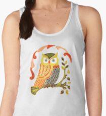 Lovely Cute Owl Women's Tank Top