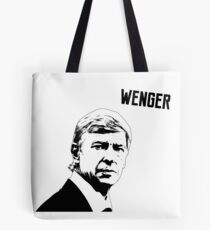 Arsene Wenger - Arsenal Tote Bag