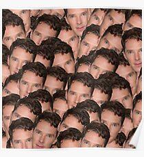 Benedict Cumberbatch Texture Poster