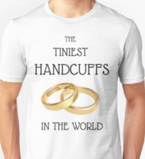 Cool Wedding T-shirts, bachelors party, best man, grooms, married couples T-Shirt