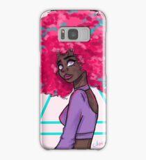 Neon Afro Samsung Galaxy Case/Skin