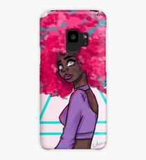 Neon Afro Case/Skin for Samsung Galaxy