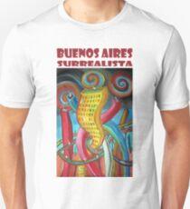Buenos Aires Surrealista por Diego Manuel Unisex T-Shirt