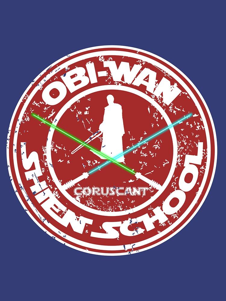 OBI-WAN SHIEN SCHOOL  by karmadesigner
