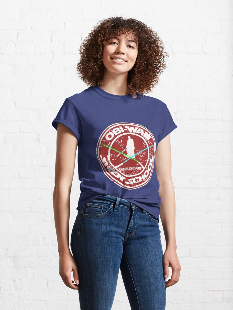 Alternate view of OBI-WAN SHIEN SCHOOL  Classic T-Shirt