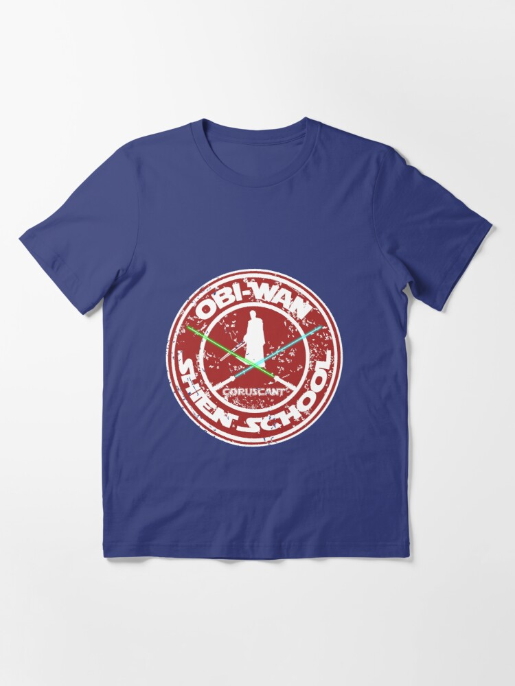 Alternate view of OBI-WAN SHIEN SCHOOL  Essential T-Shirt
