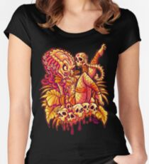 PREDATOR PINUP Women's Fitted Scoop T-Shirt