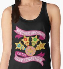 Slay Together, Stay Together - Sailor Scouts Women's Tank Top