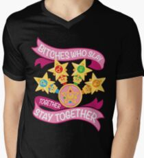 Slay Together, Stay Together - Sailor Scouts Men's V-Neck T-Shirt