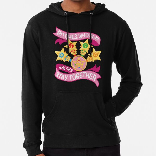 Slay Together, Stay Together - Sailor Scouts Lightweight Hoodie