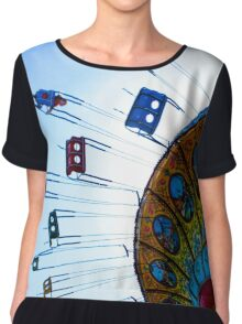 Take A Spin With Me Women's Chiffon Top