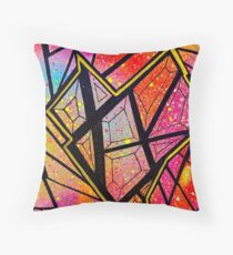glass heart Throw Pillow