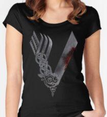 Vikings HD logo Women's Fitted Scoop T-Shirt