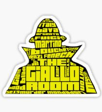 THE GIALLO ROOM: The Killer's Words  Sticker