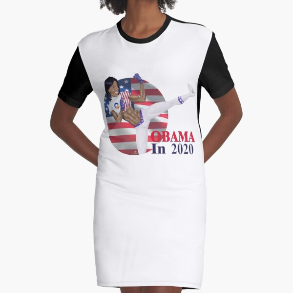 Obama in 2020 Graphic T-Shirt Dress