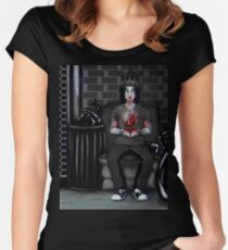 My Ashtray Heart Women's Fitted Scoop T-Shirt