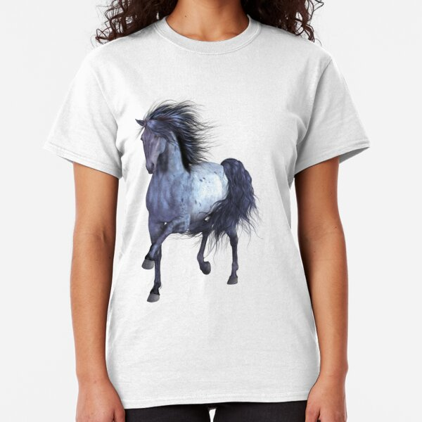 Horse on the Lake Classic T-Shirt