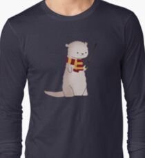 Harry Pawter Otter  Long Sleeve T-Shirt