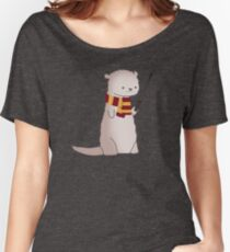 Harry Pawter Otter  Women's Relaxed Fit T-Shirt