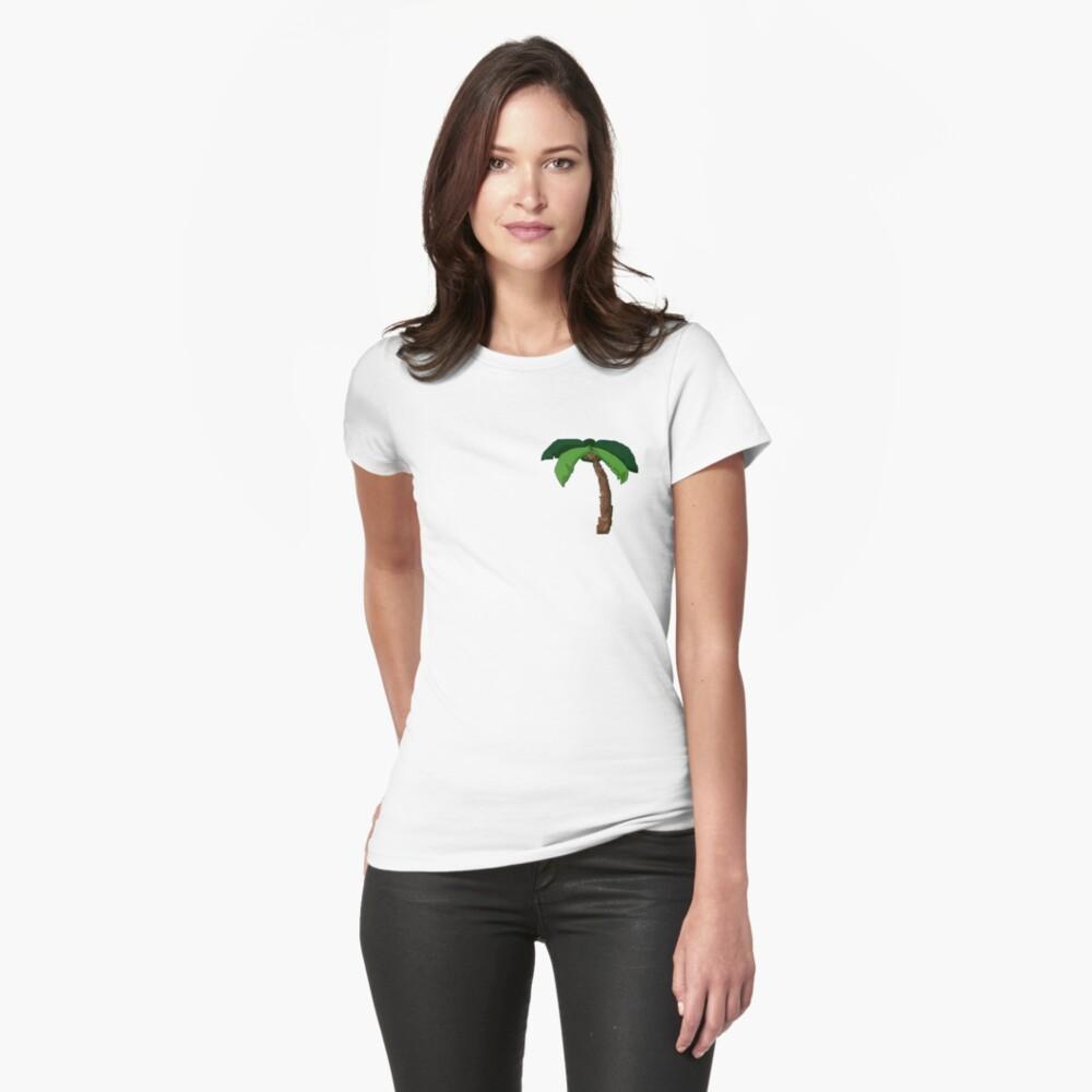 Palme Tailliertes T-Shirt