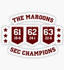 The Maroons Sticker