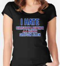 I Hate Grayson Allen Women's Fitted Scoop T-Shirt