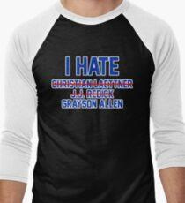I Hate Grayson Allen Men's Baseball ¾ T-Shirt