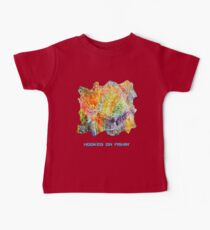 HOOKED ON FISHING FUNNY QUOTE Kids Clothes
