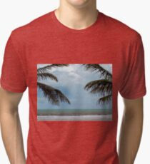 Meeting of Palm trees Tri-blend T-Shirt