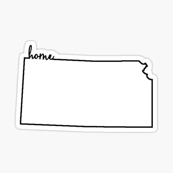 Kansas Home Überblick Sticker