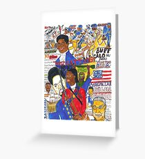 Black Patriots Greeting Card