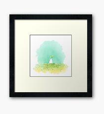 Small Totoro Framed Print