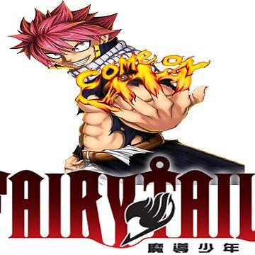 Fairy tail Natsu shirt by StonerGamesInc