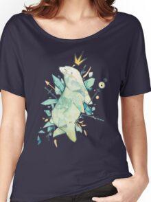 Polar bear king Women's Relaxed Fit T-Shirt