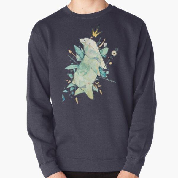 Polar bear king Pullover Sweatshirt