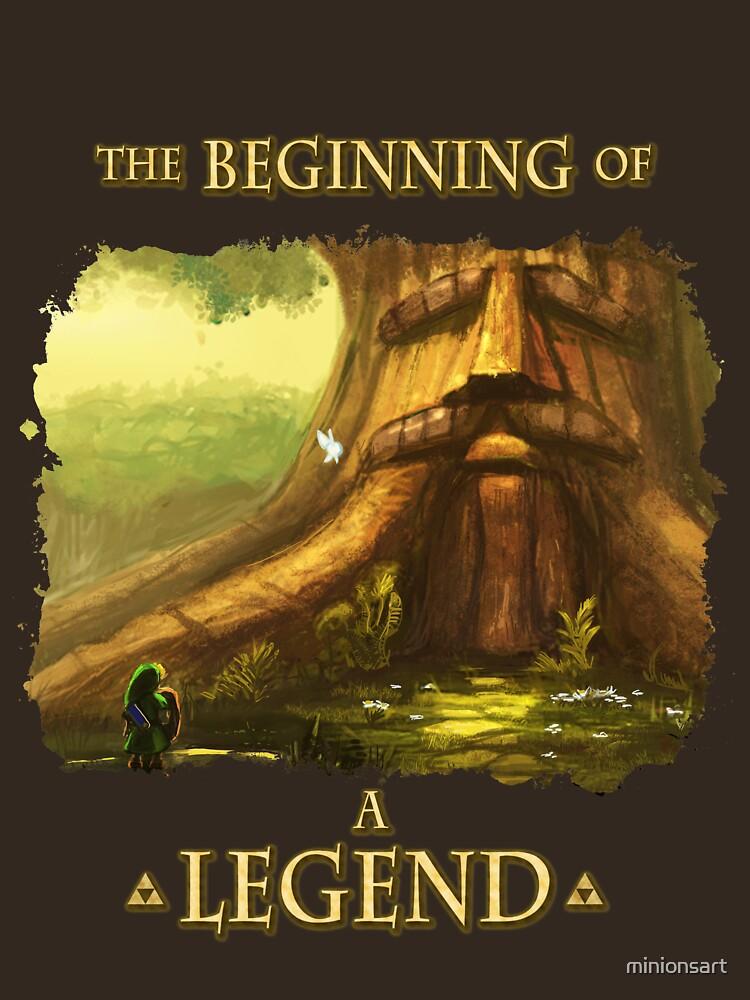 Beginning of a Legend | Unisex T-Shirt
