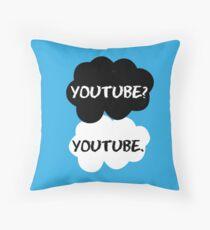 Youtube - TFIOS Throw Pillow