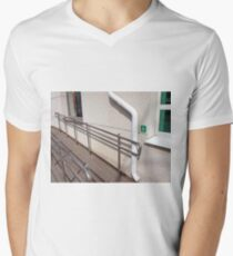 Ramp for physically challenged  Mens V-Neck T-Shirt