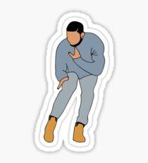 Drake Hotline Bling Sticker Sticker