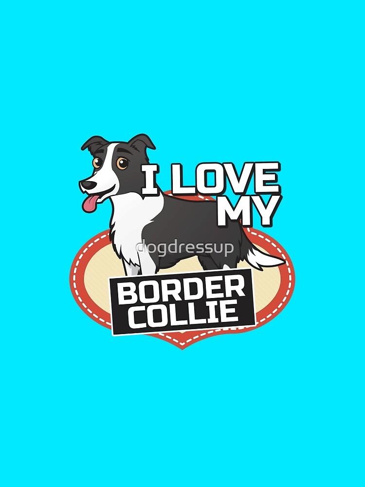 Amo mi Border Collie de dogdressup