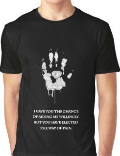 White Hand Graphic T-Shirt