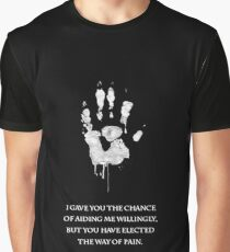 White Hand Graphic T-Shirt