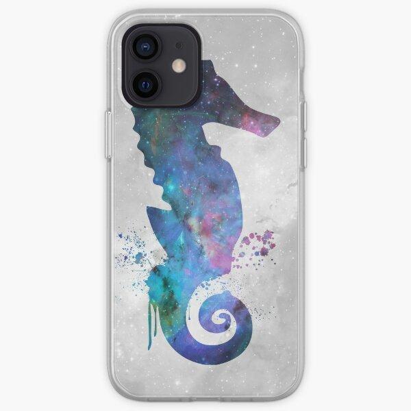 Galaxy Series (Seahorse) iPhone Soft Case