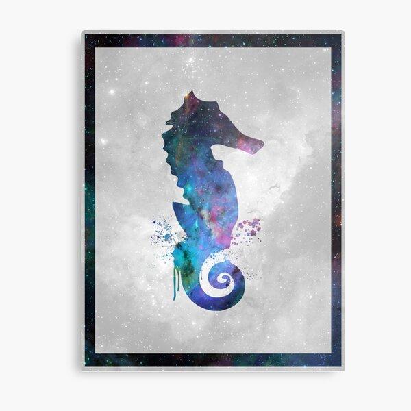 Galaxy Series (Seahorse) Metal Print