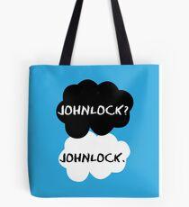 Johnlock - TFIOS Tote Bag