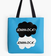 Johnlock - TFIOS Tote Bag
