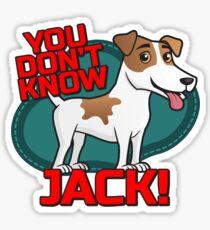 Jack - Russell Terrier Sticker