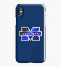 Galaxy University of Michigan iPhone Case/Skin