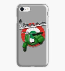 Vintage VBB Vespa by UrbanHero iPhone Case/Skin